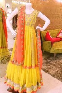Mehndi Dress 2016