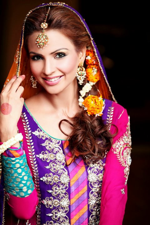 Mehndi Makeup Ideas in Pakistan