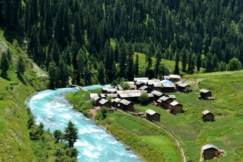 honeymoon in Neelum Valley