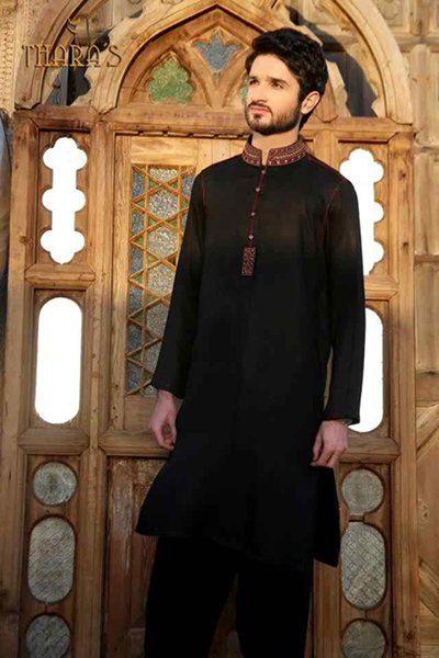 Black Mehndi Dress 2019