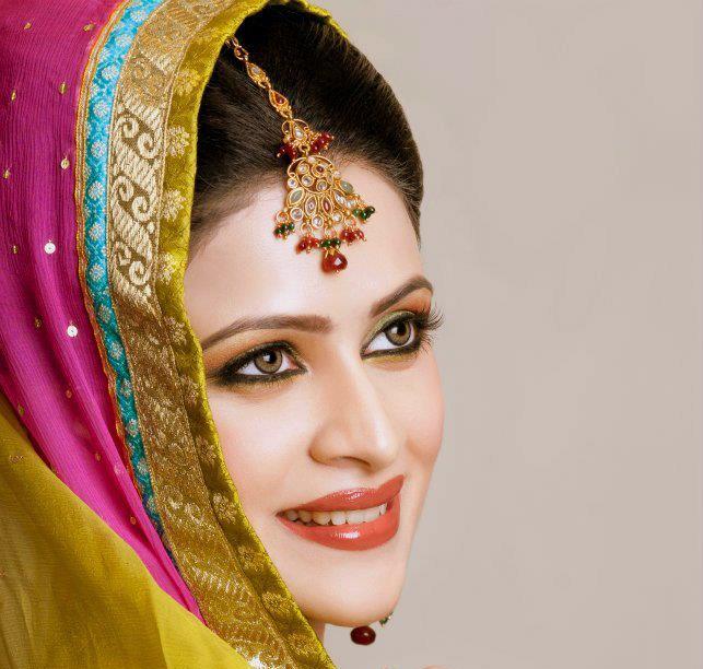 Makeup idea for Mehndi