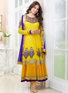 Frocks-for-Mehndi-for-brides