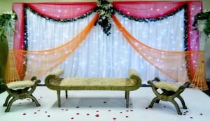 Mehndi Event Stages simple and beautiful in Pakistan