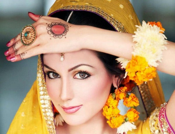 Mehndi Makeup Looks : Pakkistani mehndi makeup ideas in pictures top pakistan