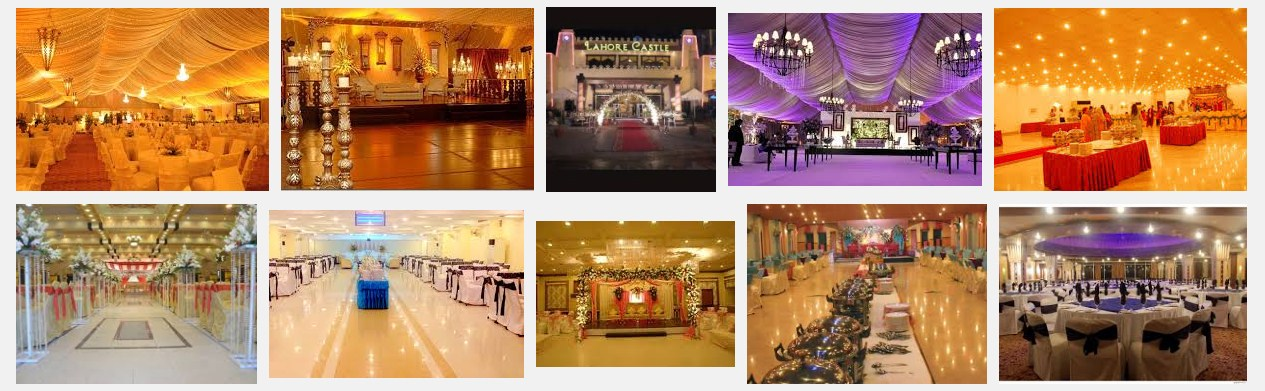 Top Shadi Hall in Lahore