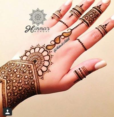 best Pakistani Mehndi Designs