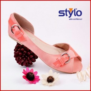 Stylo Shoes with price tag