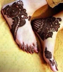 Pakistani Mehndi Designs Fashion
