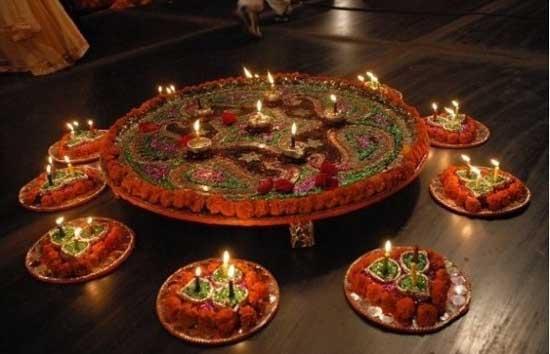 Mehndi Plates Decoration Ideas 2018 : Mehndi thaals and plates decoration