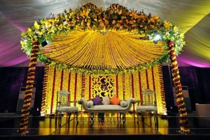 Mehndi Stage Designs 2017
