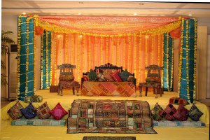 2016 Mehndi Stage Designs