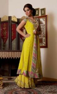 mehndi-dresses-for-summer-halfsleeves