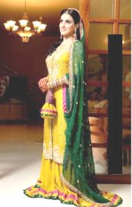 mehndi-dresses-sharara