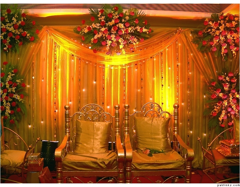 Latest pakistani mehndi stage designs pakistani and indian mehndi stages Latest decoration ideas