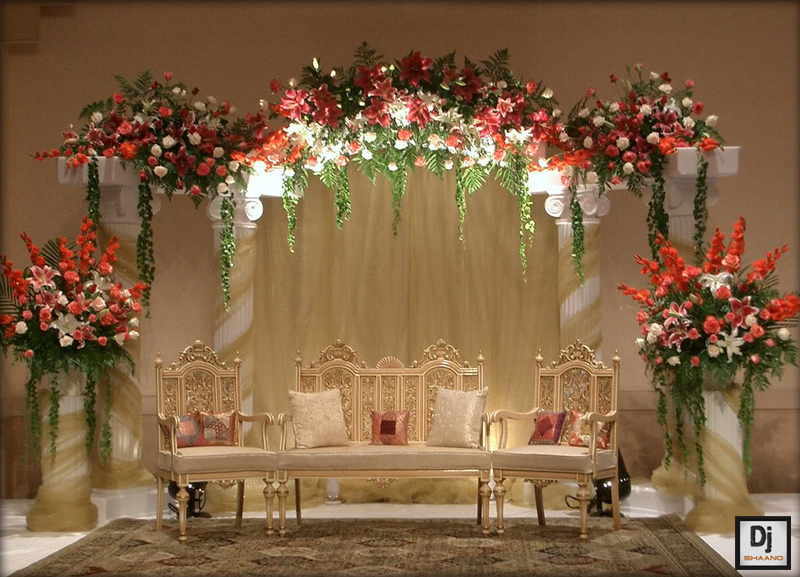 Latest stage decoration for wedding stage decoration for Latest wedding hall decoration