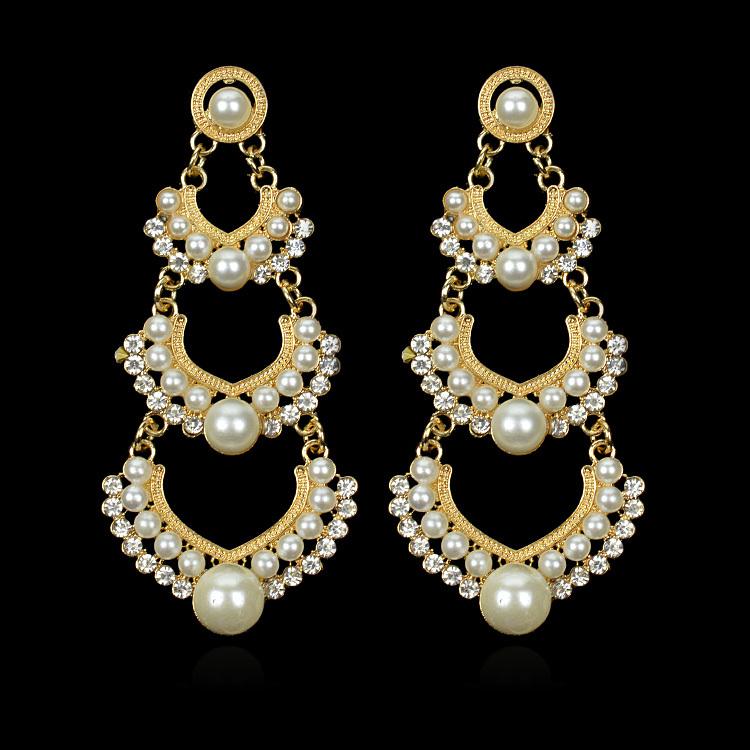 2014-Hot-Simulate-Pearl-Luxury-Gold-Plated-font-b-Indian-b-font-font-b-Wedding-b