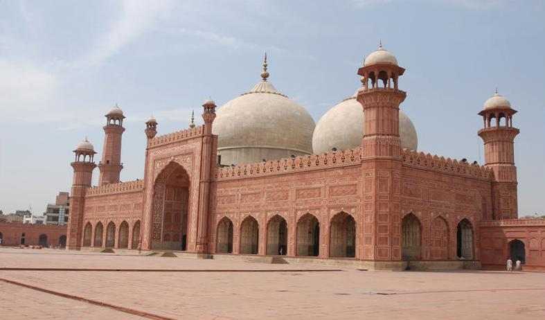 Badshai mosque and qilla Lahore