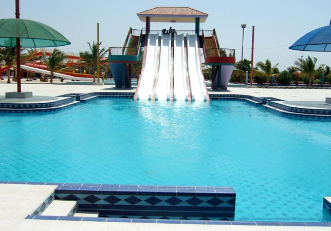 Sun way logoon water park karachi