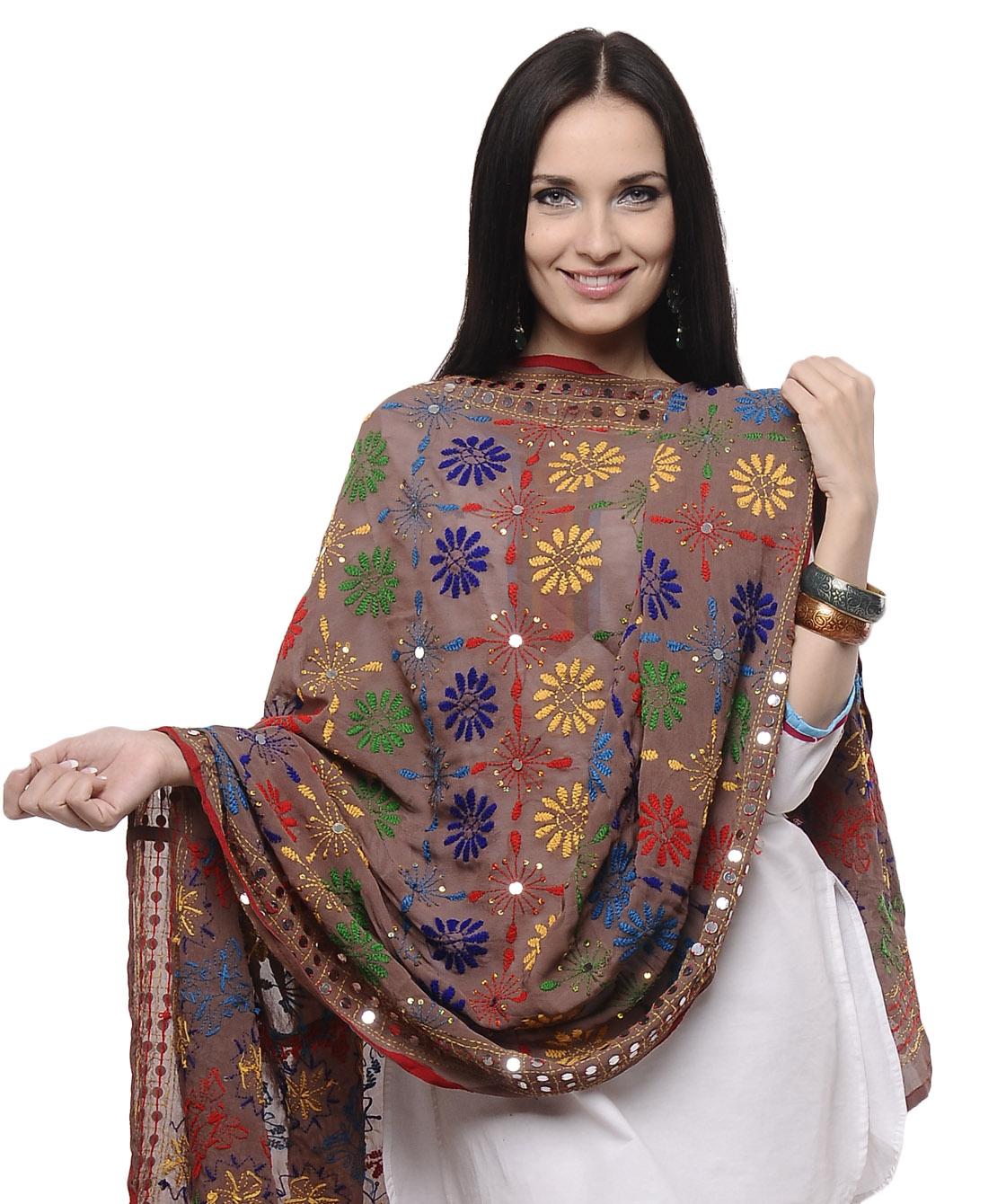 Designer Phulkari Dupatta 2013 (2)