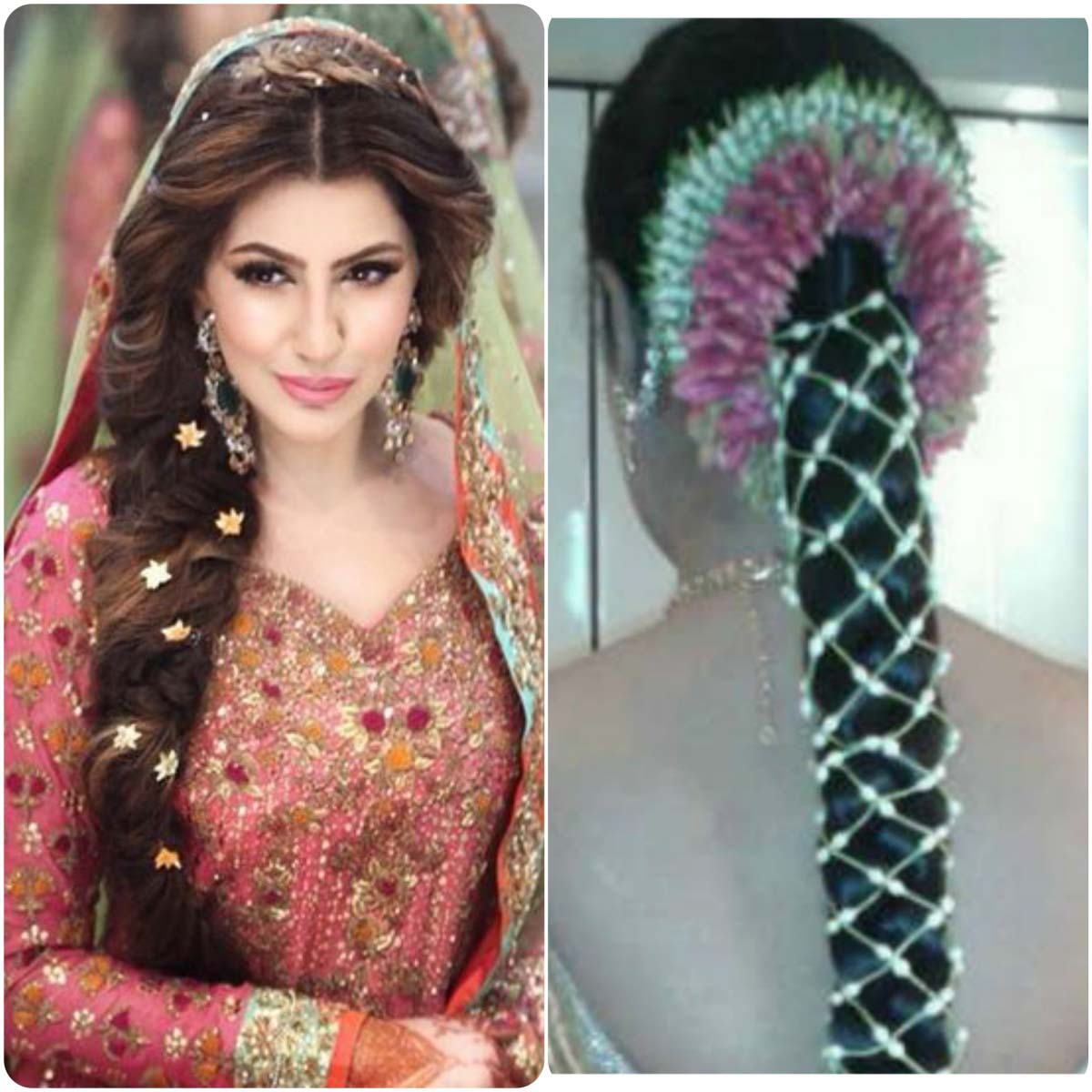 Pakistani Wedding Hairstyles  For Long  Hair  Top Pakistan