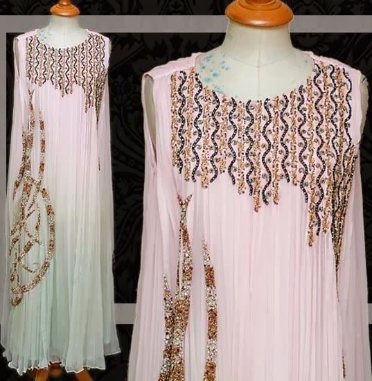 Latest And Beautiful Hand Embroidery Pakistani Designs For 2014
