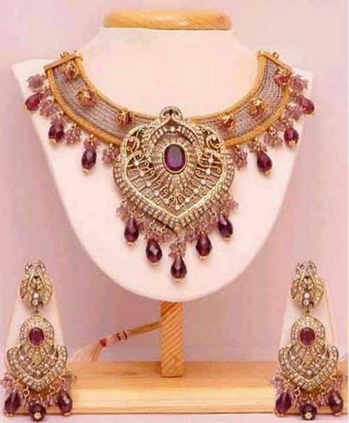 Latest Best Bridal Gold Jewellery Designs 2014