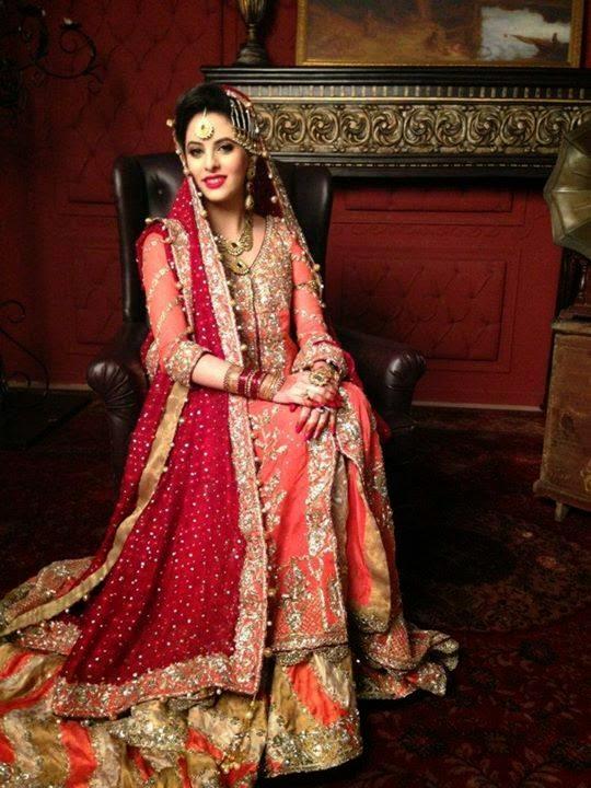 Gota dresses pakistani mehndi multi colored gota kinari for Pakistani wedding traditions