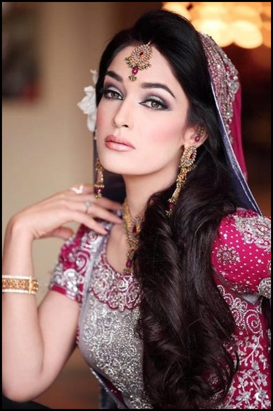 Pakistani-Bridal-Hairstyle-2014-for-Women