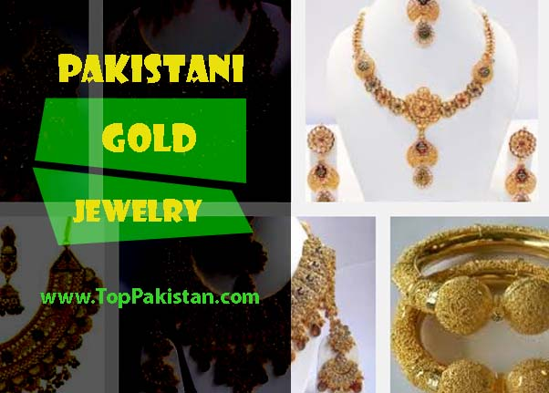 Pakistani Gold Jewelry Designs Images