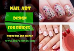 Simple Nail Art Design For Brides