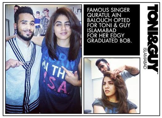 Toni and guy perfect salon in islamabad top pakistan for Salon tony and guy