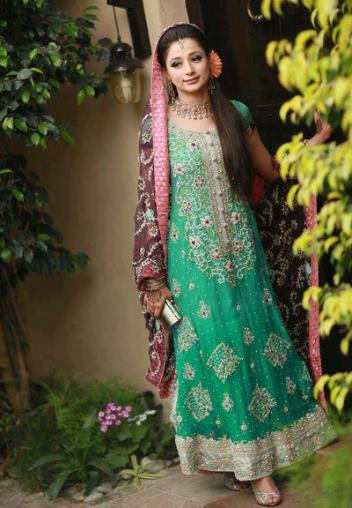 bridal walima dress 11