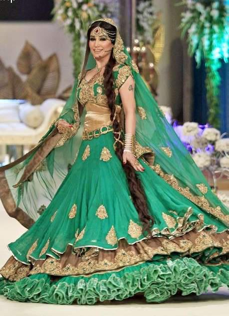 bridal walima dress 19