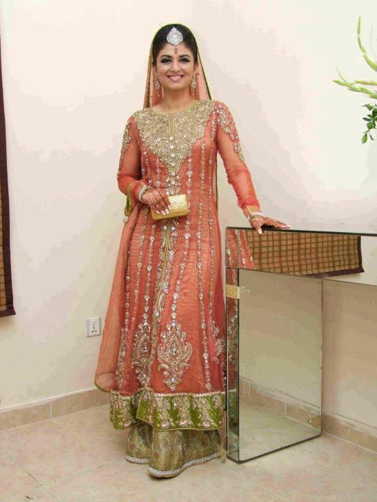 bridal walima dress 6