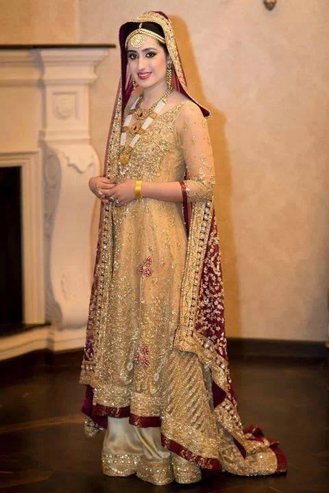 bridal walima dress 9