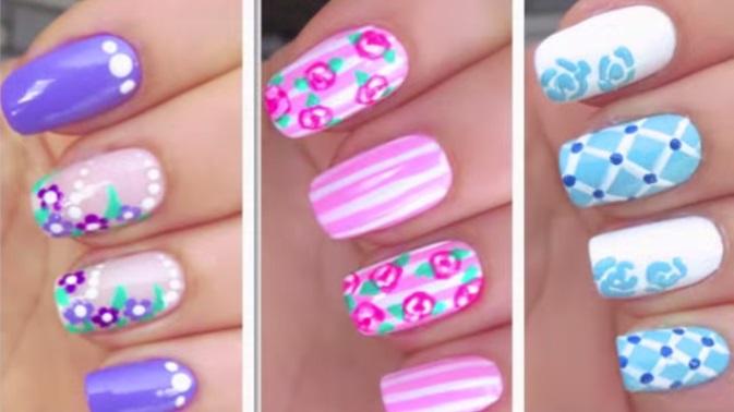 flower-nail-art-designs