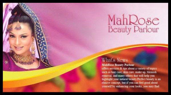 Mahrose Beauty Parlour Tariq Road Karachi