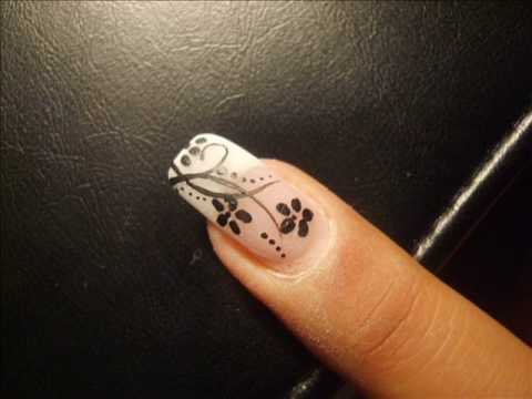 nail-art-design-flowers-step-by