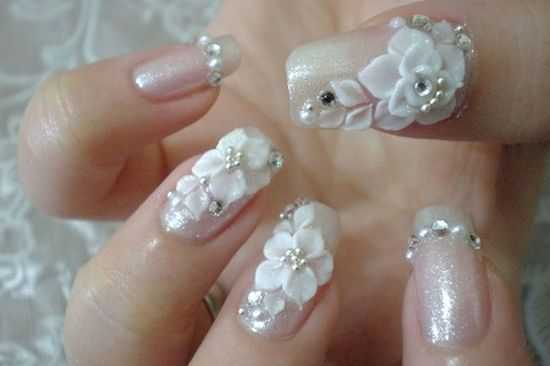 nail art designs for wedding 10