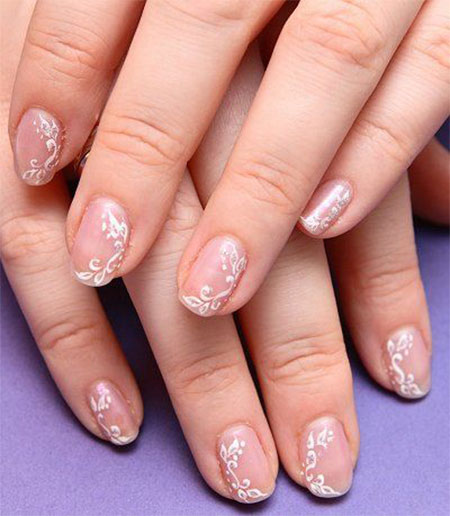 nail art designs for wedding 12