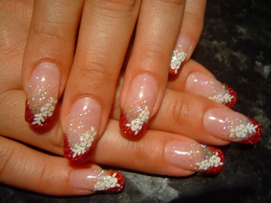 nail art designs for wedding 14
