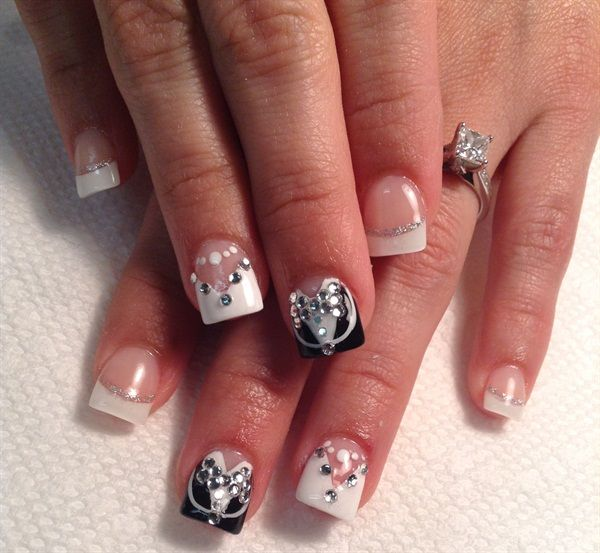 nail art designs for wedding 15