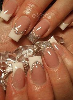 nail art designs for wedding 16