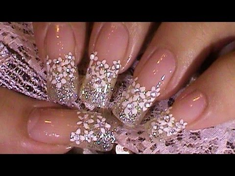nail art designs for wedding 17
