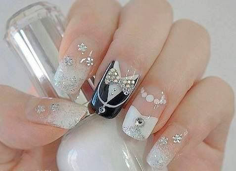 nail art designs for wedding 18