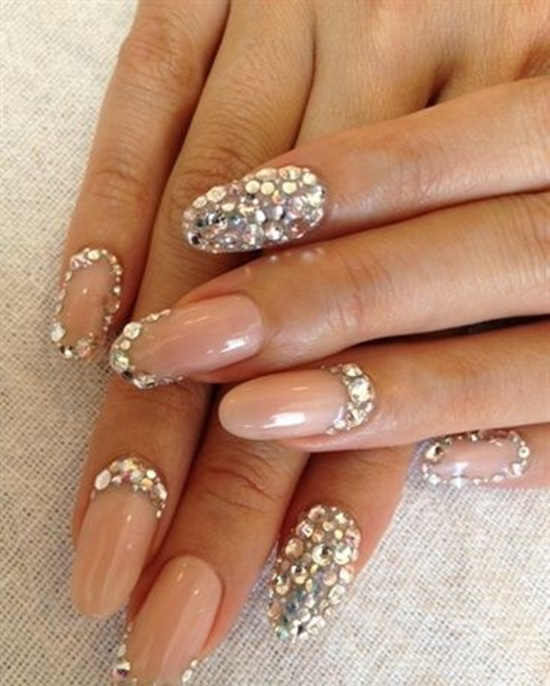 nail art designs for wedding 7