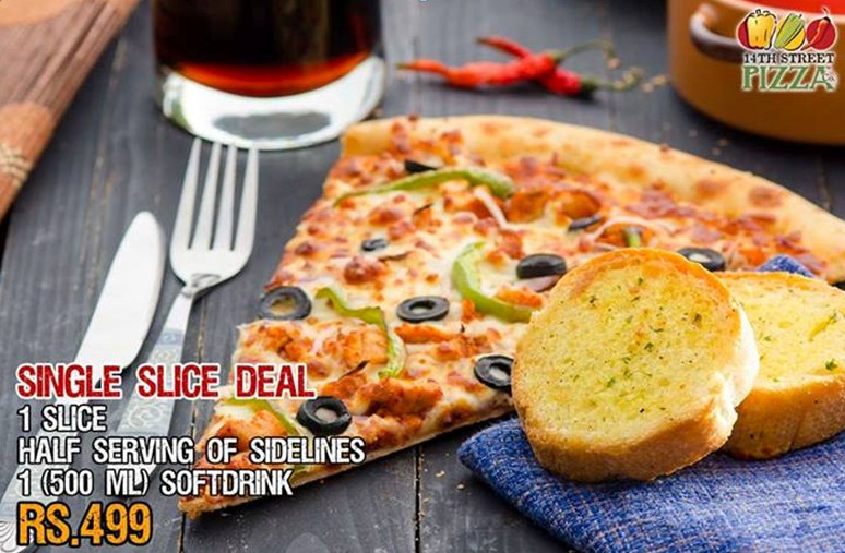 Savor your Taste Buds with 14th Street Pizza Company