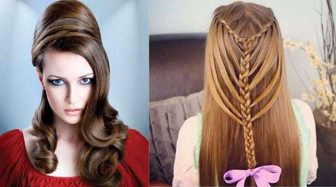 Mehndi Hairstyles For Long Hair : New mehndi hairstyle for long hair