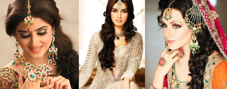 pakistani mehndi hairstyles 2
