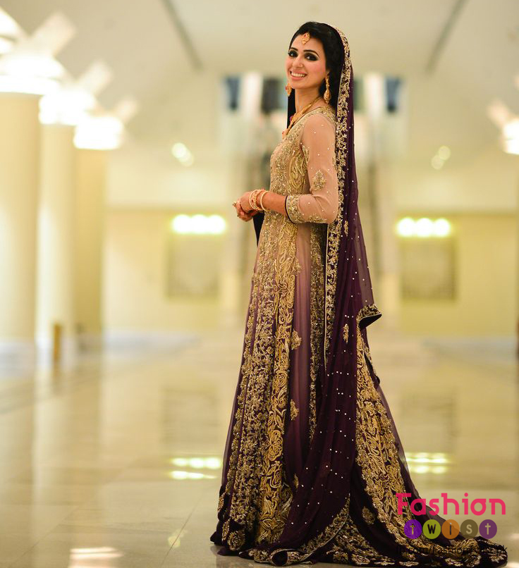 Elegant and Gorgeous Bridal Walima Dresses Colors